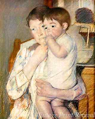 Baby on Mother/'s Arm by Mary Cassatt Mother Child 8x10 Print Picture 2040
