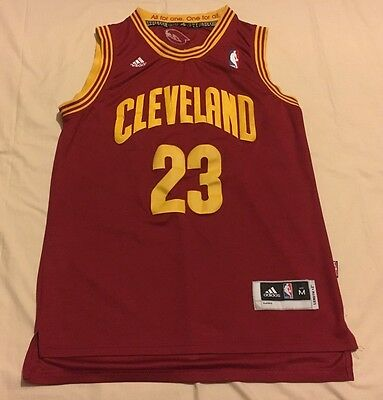 Cleveland Cavaliers Lebron James Nba Mens Supporters Jersey Size Medium