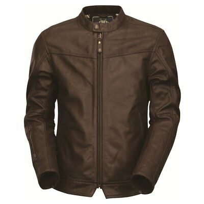 NEW Roland Sands Jacket Walker Leather Brown from Moto Heaven