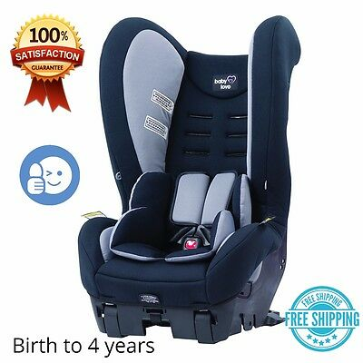 convertible baby car seat rear back recline children comfy babylove protection aud. Black Bedroom Furniture Sets. Home Design Ideas