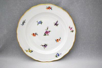 Meissen Scattered Flowers 7.75 inch Salad or Dessert Plate First Quality