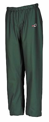 "Flexothane Essential Waterproof Trousers in Green Sizes S - XXXL ""Free Delivery"""