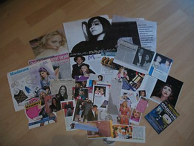 Madonna - rare clippings/cuttings/articles