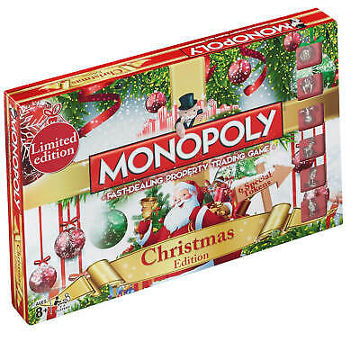 Christmas Monopoly Limited Edition Brand New Gift Board Game Present