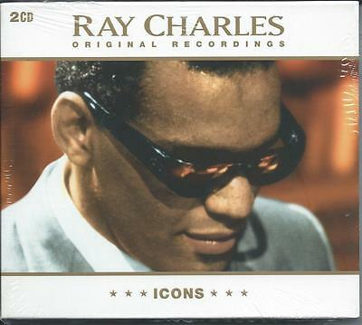 Ray Charles - Icons - The Best Of / Greatest Hits 2CD NEW/SEALED