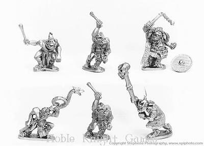 Old Glory Ghost Mini Orcs 25mm Orc Command Pack MINT