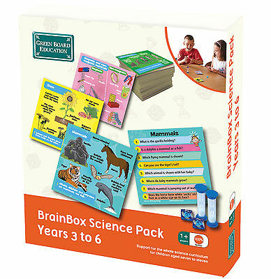 NEW!!! Brainbox Science Pack - Year 3 to 6