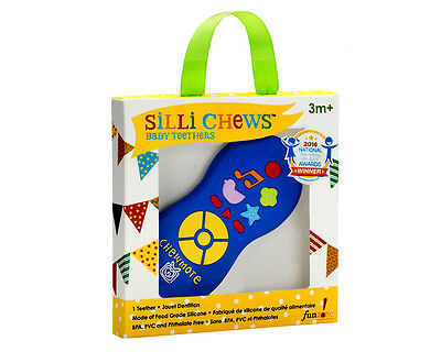 NEW!!! Chewmote Food Grade Silicon Teether by Silli Chews