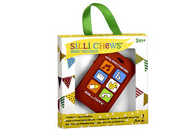 NEW!!! Chew Phone Food Grade Silicon Teether by Silli Chews