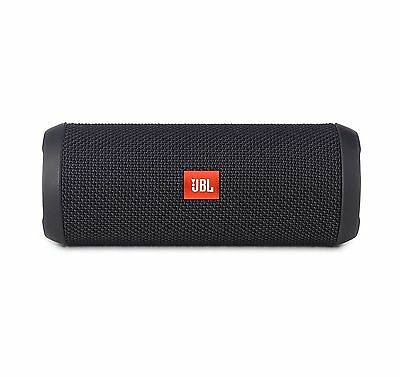 JBL Flip 3 SPLASHPROOF PORTABLE BLUETOOTH SPEAKER * BRAND NEW * BLACK