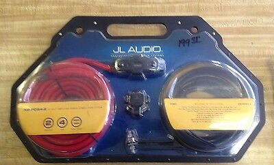 JL Audio XB-PCS4-2 power amp connection system 4 gauge 2 amp NOS