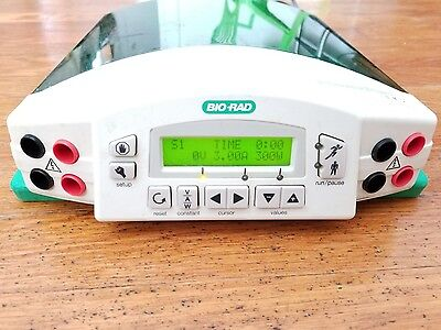 BioRad Power Pac HC Electrophoreses Power Supply 250V 300W 30A Working