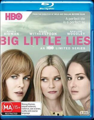 Big Little Lies : Season 1 - Blu Ray Region B Free Shipping!