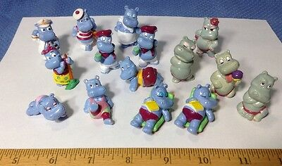 Kinder Surprise Set - Happy Hippos 1988-1990 Figures Collectibles Very Rare!!!