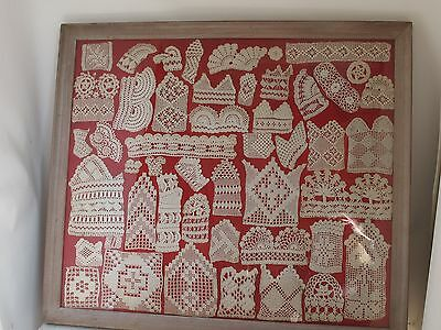 Antique Crochet Sampler