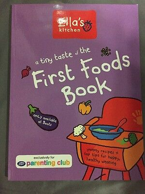 Ella's Kitchen First Foods Book - The Purple One Soft Cover