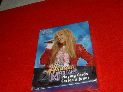 Brand New Unopened Disney Hannah Montana Playing Cards Deck