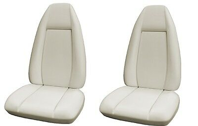 1970 Dodge Charger Molded Bucket Seat Foam Pair-NEW