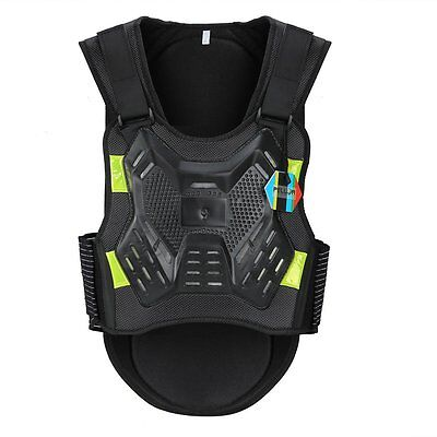 Kid Sport Cycling Protective Vest Body Guard Chest Back Protector Anti-fall Gear