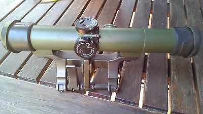 Hensoldt Zeiss Scope ZF 4x24 Fero-Z 24 - Bronze-Green - Complete Set