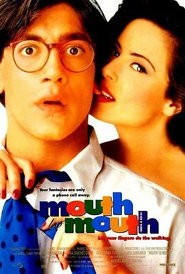 Mouth to Mouth Original Double-Sided 1 Sheet Rolled Movie Poster 27x40 NEW 1995