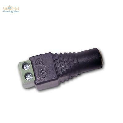 5 x Adapter - CONNECTOR ON 5,5/2,1mm DC Jack - Connection for LED Stripes