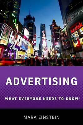 Advertising: What Everyone Needs to Know (R) by Mara Einstein (English) Paperbac