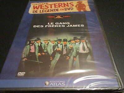 "DVD NEUF ""LE GANG DES FRERES JAMES"" David, Robert & Keith CARRADINE - western"