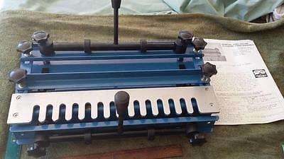 """Dovetail Machine 12"""".tools,shed,workshop,woodwork,joints,timber,man cave,craft."""