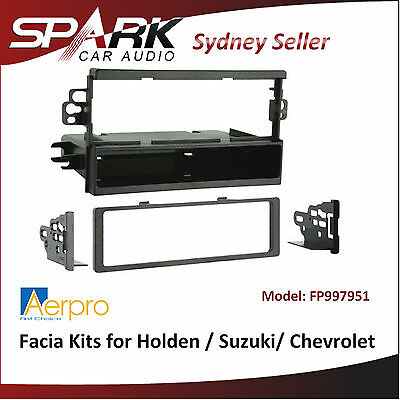 ADRO AERPRO Facia Kits for Holden Barina 2005-08,Viva 2006- single-din FP997951