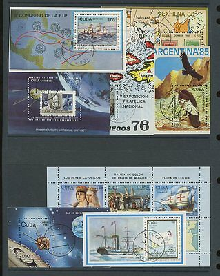 CARIBBEAN 1976-90 MINIATURE SHEETS COLLECTION...ALL DIFF...37 SHEETS..cv£120