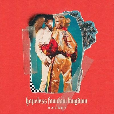 HALSEY-CD-Hopeless Fountain Kingdom(2017)-Now Or Never-New AND Sealed