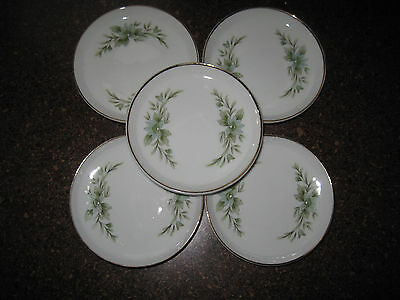 Set Of 5 Creative Manor Fine China Coaster Set From Japan Registered #9169