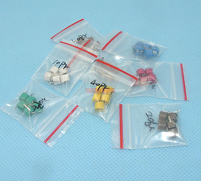 6mm Ceramic Trimmer Capacitor Assortment Kit Variable Capacitor 10values 50pcs