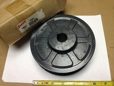 "BROWNING 1VP68X1, 1"" Bore, Variable Pitch 1 Groove V-Belt Pulley, 2L482"