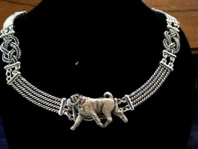 Shar Pei Knot Necklace~dog jewelry~ celtic~Infinity Knot  chinese sharpei