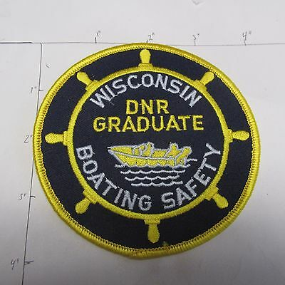 Wisconsin Boating Safety Graduate Dnr Boat Natural Resources Marine Parks Patch