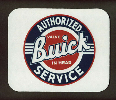 BUICK AUTHORIZED SERVICE Mouse Pad (Valve In Head) *FREE SHIPPING