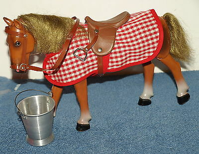 VINTAGE Articulated Walker Toy Horse with Accessories,Made in Germany,RARE,EXC!