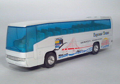 Contemporary Manufacture Diecast Cars, Trucks & Vans Diecast Vehicles, Parts & Accessories Welly 1:64 Die-cast Mercedes-Benz MB 0 404 DD Super Coach Express Bus White Mode