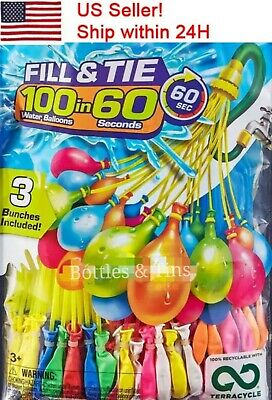 Water Balloons easy fill 200 Water Balloon in 1 Minute A Bunch OF Balloons