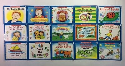 Childrens Books Lot 15 Level C Easy Readers Learn to Read Guided Reading Set