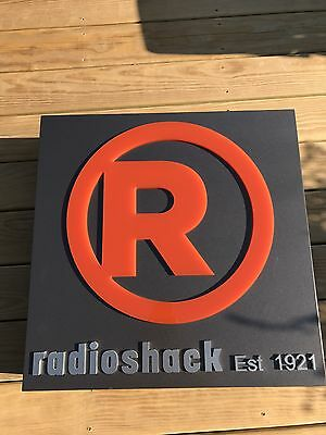 Radio Shack Logo In-store Sign - 2017
