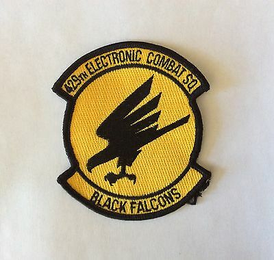 429th Electronic Combat Squadron US Air Force Falcons Embroidered Patch Badge