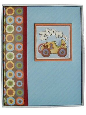 CR Gibson Zoom-Zoom Memory Book - Baby's First Five Years