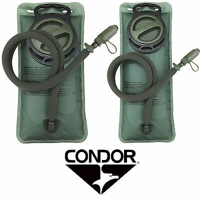 Condor Tactical Camping Hiking 1.5/2.5L BPA Free Water Hydration Bladder 221033