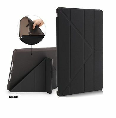 Smart Magnetic Leather with TPU back Stand Case COVE for IPAD 2/3/4 AIR/ 2 Mini
