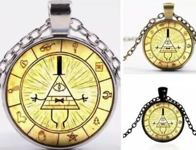 GRAVITY FALLS MYSTERIOUS Bill Cipher Wheel Necklace Random