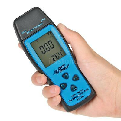 AS1392 Digital LCD EMF Tester Electromagnetic Radiation Detector Meter Counter
