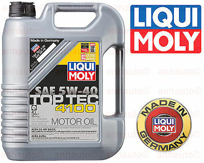 0eaf6a50385a3 7 LITER LIQUI Moly PREMIUM 5w40 Synthetic Motor Oil For BMW Mercedes ...